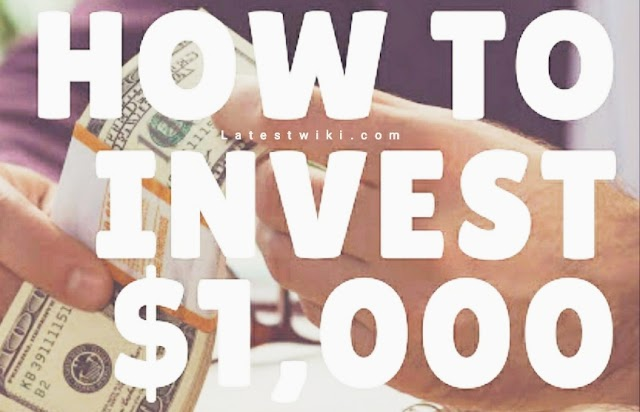 Great Ways to Invest $1,000