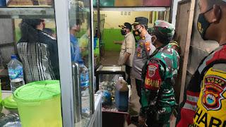Pengetatan PPKM, Tripika Kecamatan Bontonompo Lakukan Patroli