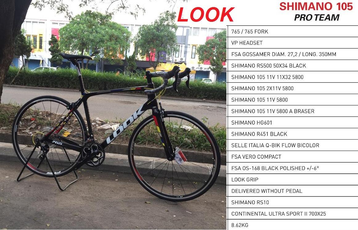 Toko Sepeda Online Majuroyal Balap Is Roadbike Murah Nih Toolkit 11 In 1 Hitam Road Bike Look 765 Pro Team 2x11 Speed
