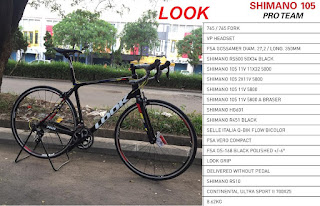 Road Bike Look 765 Pro Team 2x11 speed