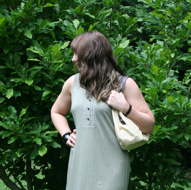 This comfy, cotton dress from Aventura can be dressed up or down for any graduation or other year-end school event.