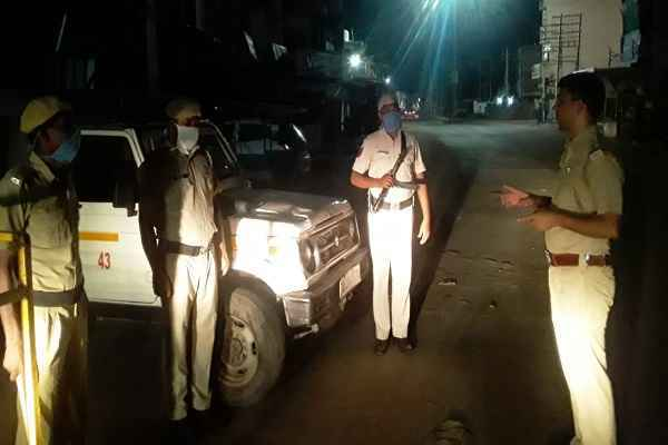 faridabad-cp-op-singh-action-against-policemen-night-checking-post