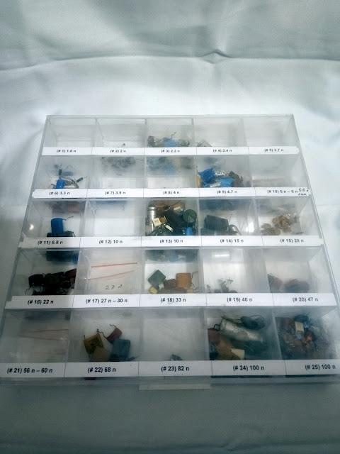 Electronics storage box DIY 10
