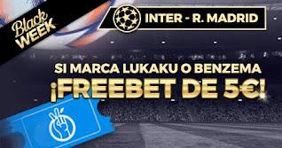 Paston promo Inter vs Real Madrid Black Week 25-11-2020