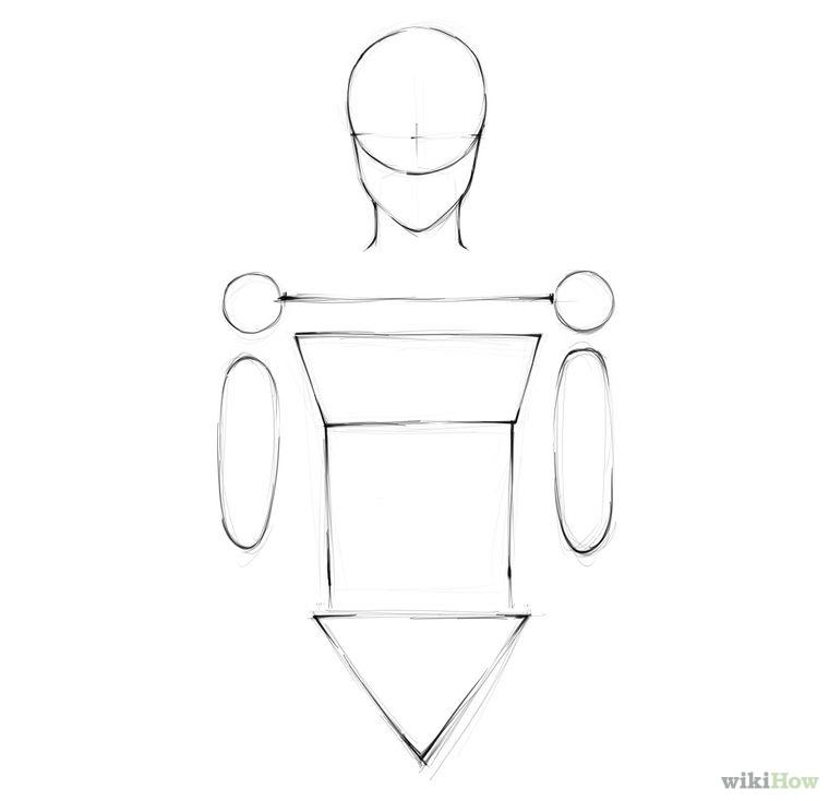 Menggambar Manusia Part 3 Step by Step - Seni Rupa