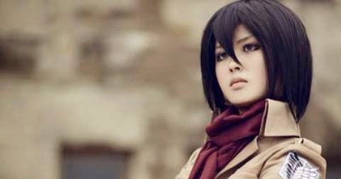 Mikasa Ackerman Hd Cosplay Anime Meme