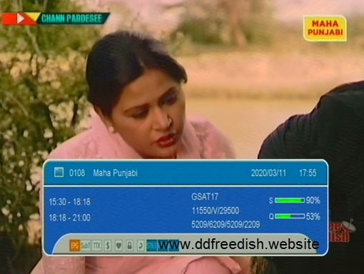 punjabi channel free dish frequency