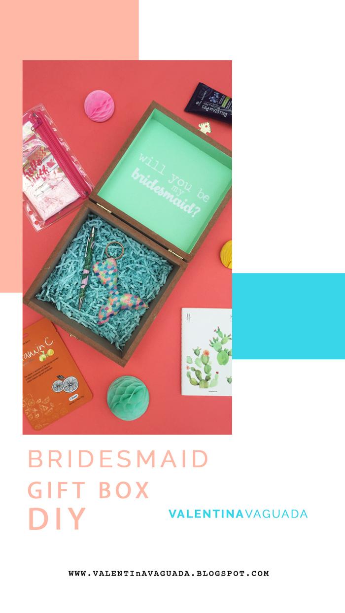 gift box, diy, do it yourself, wedding, wedding diy, bridesmaid, handmade, gifts