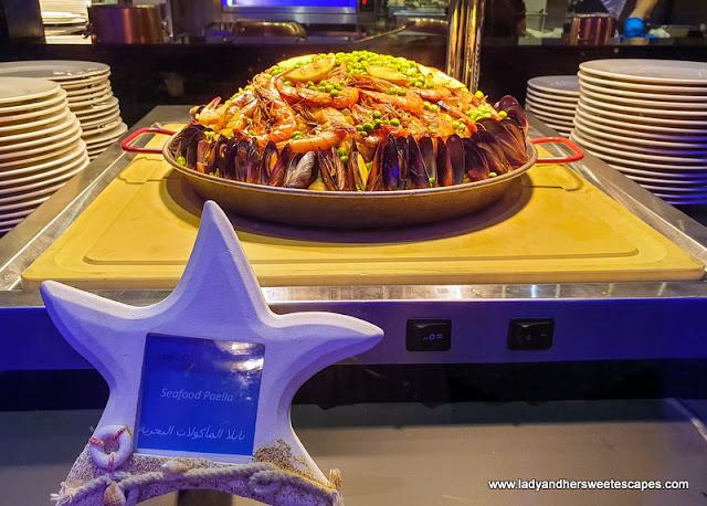Seafood Paella in Medley Pullman Dubai