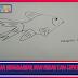 Cara Menggambar Ikan Mudah dan Cepat