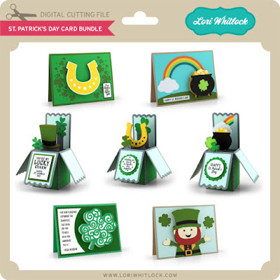 DIY St. Patrick's Day Cards from Lori Whitlock