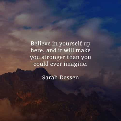 Self confidence quotes that'll inspire believing yourself