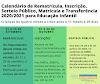 CACHOEIRINHA | Divulgado calendário para inscrições, matrículas, rematrículas, sorteio público e transferências na Educação Infantil e Pré-escolas