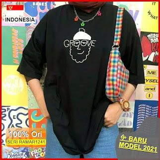 RAMAR1241 NEW SET KAOS OVERSIZED GROOVE BARU 2021