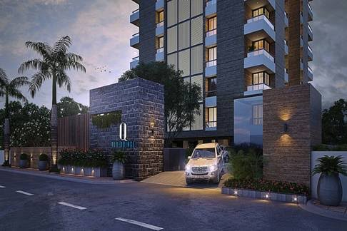 ब्लू ग्रुप द्वारा सूरत के पाल क्षेत्र में ब्लू क्वींस प्रोजेक्ट। Blu Quince  Project in Pal area of Surat by Blu Group.