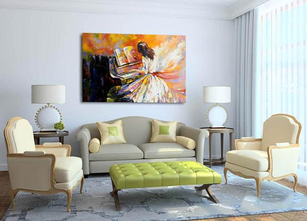 Giá in tranh Canvas bao nhiêu còn tùy thuộc vào rất nhiều yếu tố