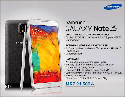 Samsung Galaxy Note 3 price in Nepal