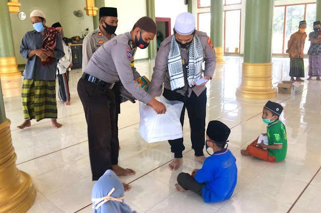 Kapolres Lombok Timur kembali santuni anak yatim