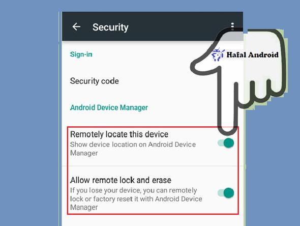 Aktifkan Remote Lokasi Akun Google Android Device Manager