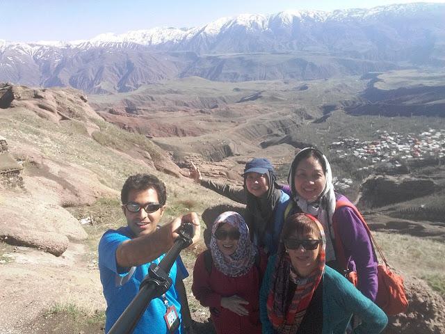 las alturas del Valle de Alamut