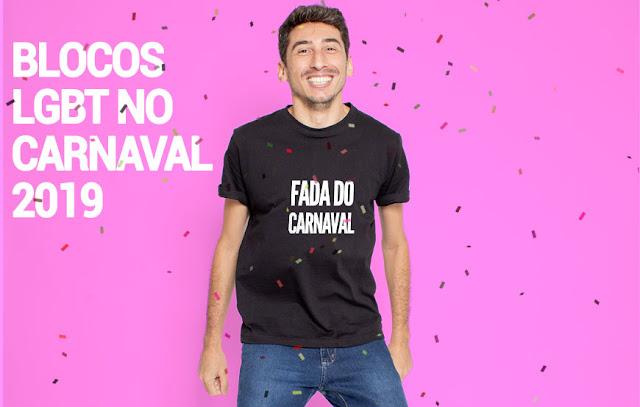 Carnaval 2019 - Bloquinhos LGBT+