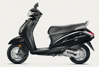 Honda Activa 4G Black Color