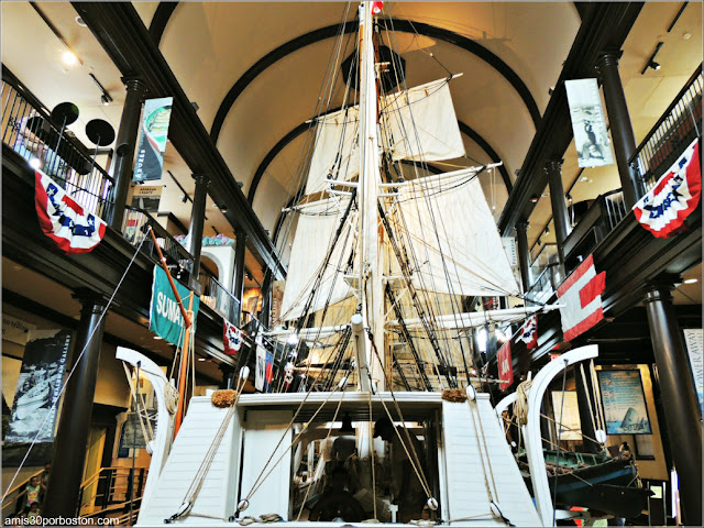 Museo de las Ballenas de New Bedford en Massachusetts