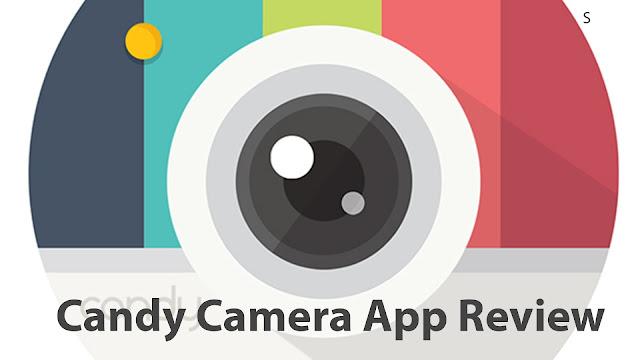Candy Selfie Camera, selfies con efectos en Android