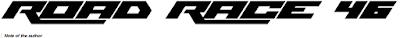 Font Bergaya Racing