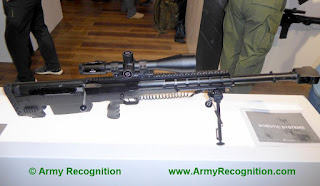 Senapan Anti Material Bullpup SV-18 12.7mm