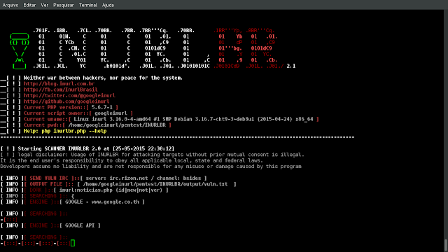 Docker-Inurlbr - Advanced Search In Search Engines, Enables Analysis Provided To Exploit GET / POST Capturing Emails Urls