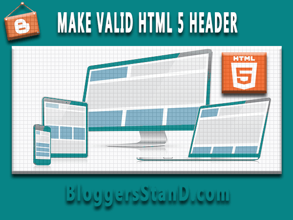 How to create validate html5 blogger template for better seo