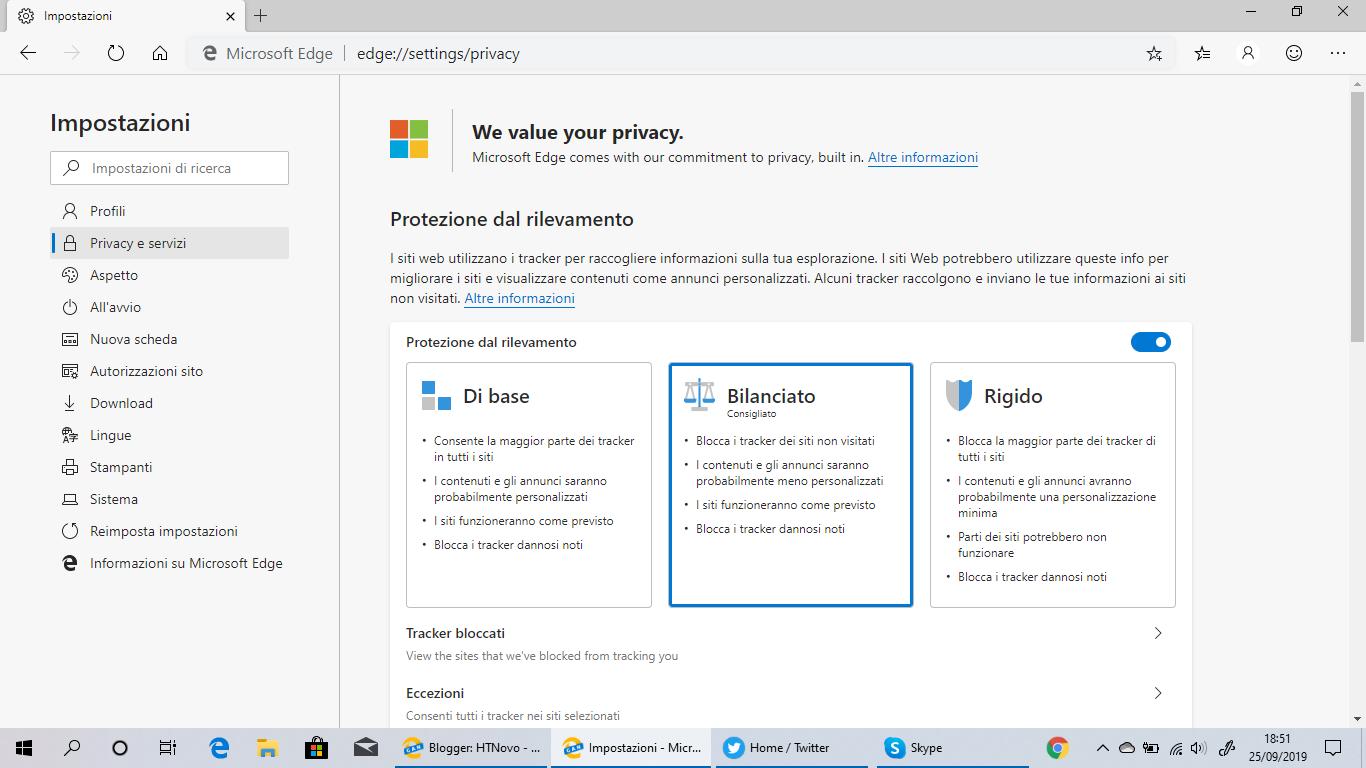 Microsoft Edge Canary presenta diverse novità
