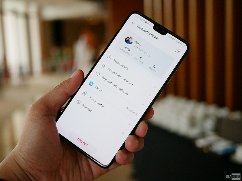 You can access the Huawei Mobile Cloud in the settings of your phone