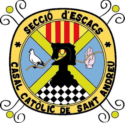 Emblema de la Sección de ajedrez del C.C. Sant Andreu
