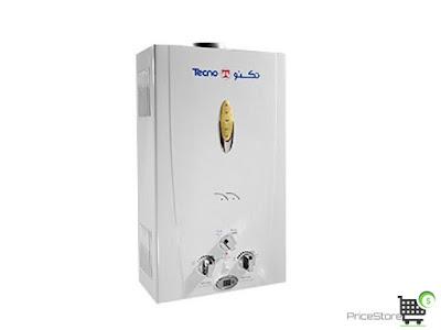 سخان غاز تكنو جاز 10  لتر ديجيتال بمدخنه موديل c10