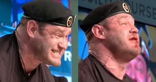Αρσιβαρίστας σήκωσε 426 κιλά «έσκασε» η μύτη του και γέμισε αίματα