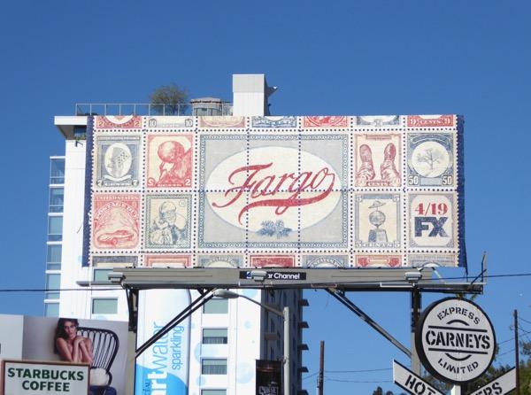 Fargo season 3 stamps billboard