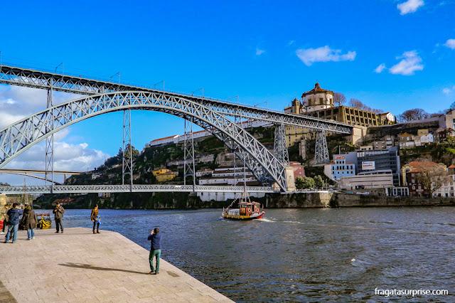 Cais da Ribeira, Cidade do Porto, Portugal