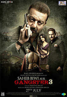 Saheb Biwi Aur Gangster 3 2018 Hindi Pre-DVDRip 700Mb x264 New