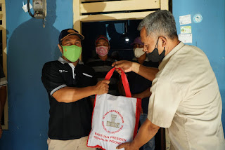 Polres Blitar Kota Tampung Aspirasi PPRN dan Berikan Bantuan dari Presiden RI