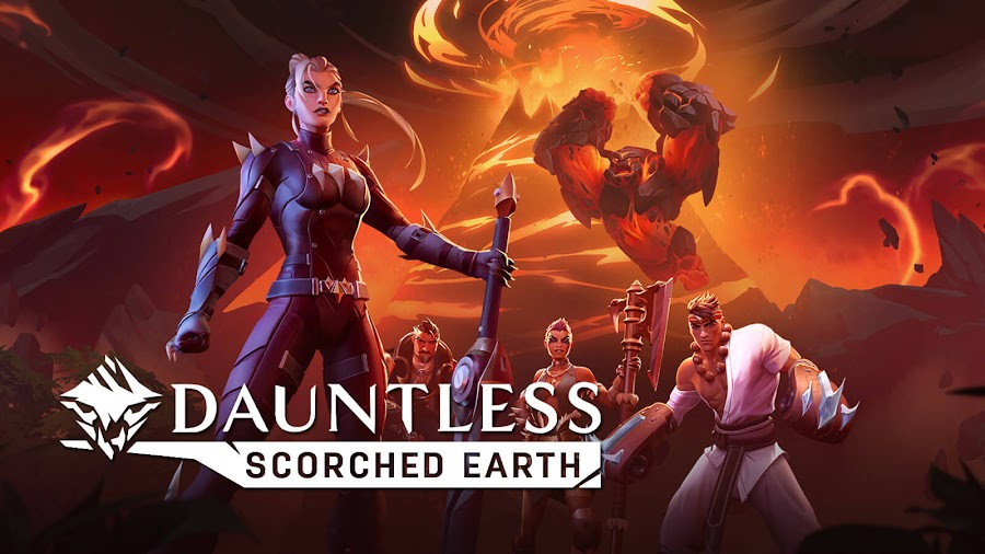 dauntless scorched earth free content update pc epic games store ps4 nintendo switch xbox one free to play phoenix labs