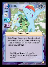 My Little Pony I'll Fly Equestrian Odysseys CCG Card