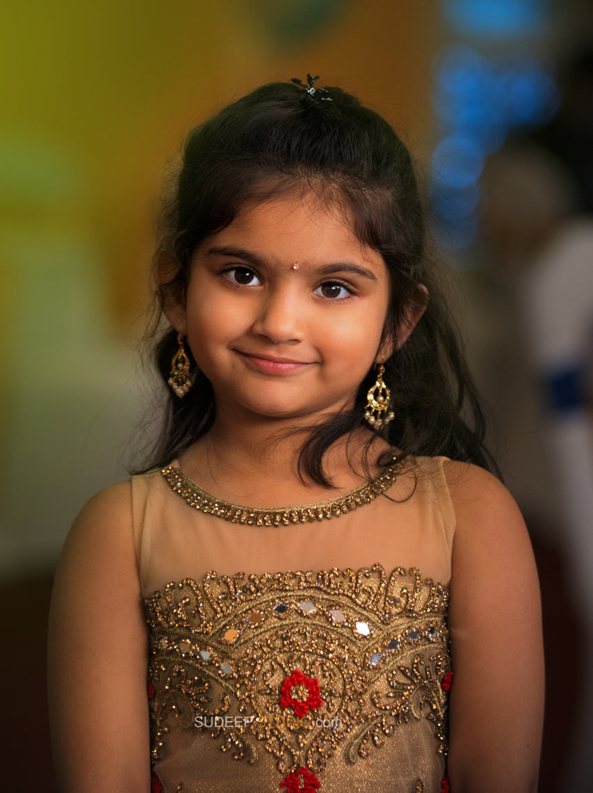 Indian Girl Portrait Photography - Sudeep Studio Ann Arbor Photographer