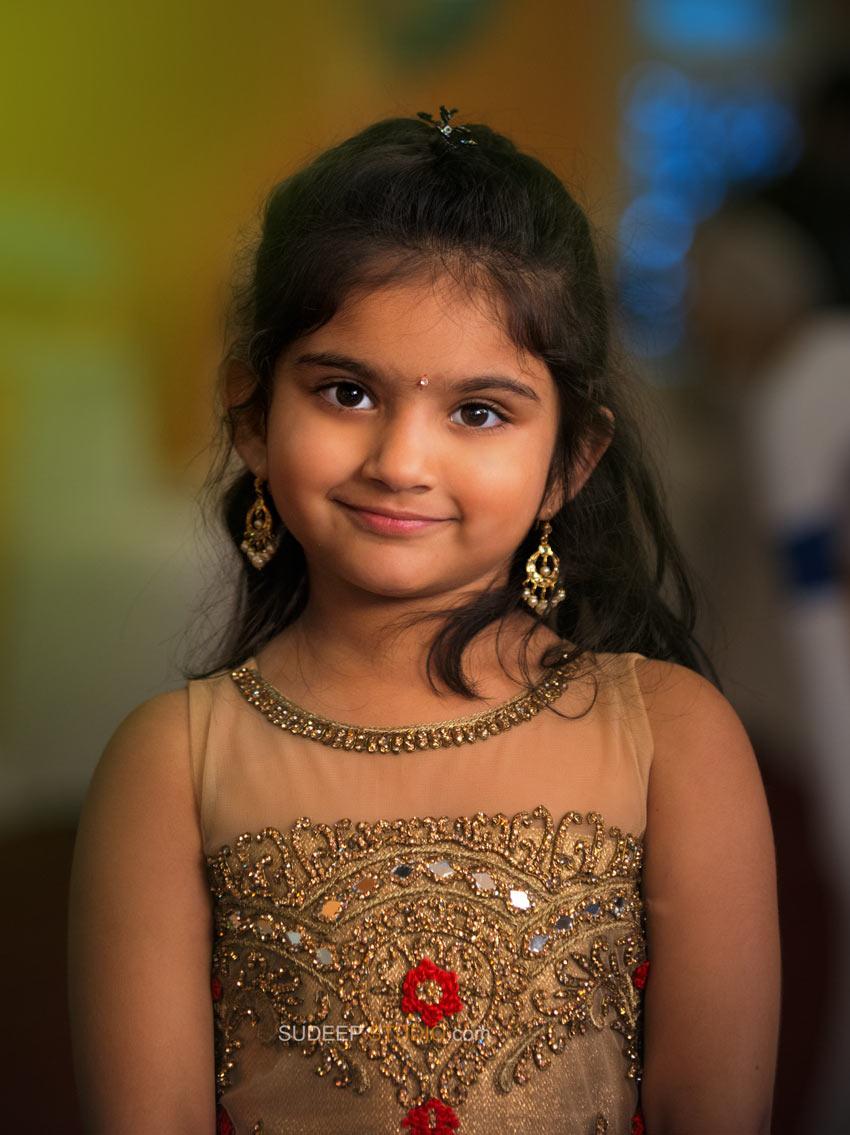 Indian Girl Portrait Photography - Sudeep Studio Ann Arbor Photographer