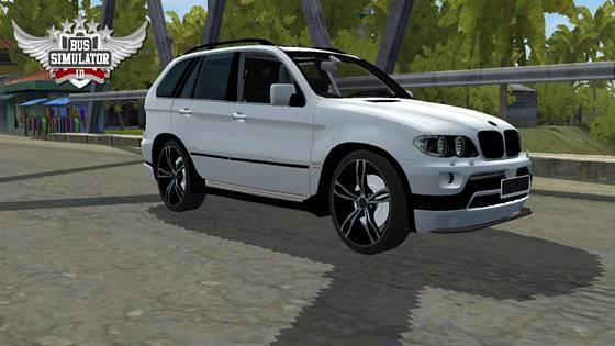 Mod Mobil BUSSID BMW X5 Full Anim