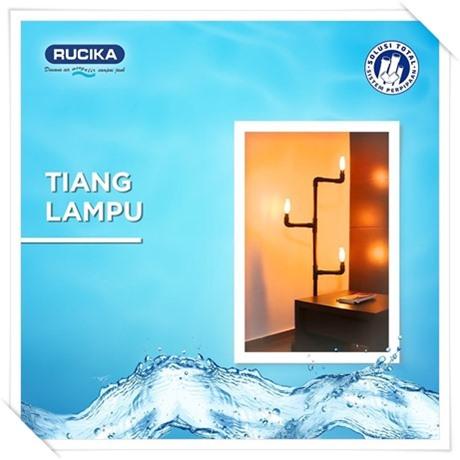 Pipa air Rucika tiang lampu