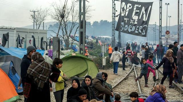 Ειδομένη: Επεισόδια ανάμεσα σε πρόσφυγες και ΜΑΤ