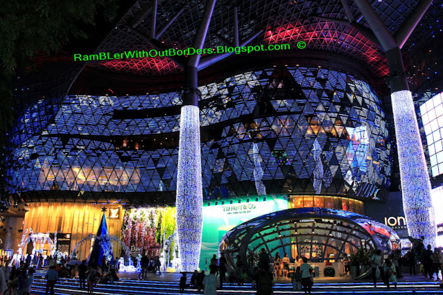 Christmas displays and decorations, ION Orchard, Orchard Road, Singapore