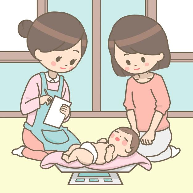 Kehidupan di Jepang, Kunjungan Bidan ke Rumah